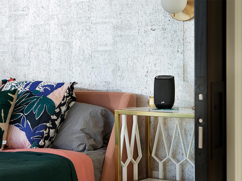 Coluna Google Assistant e Chromecast Polk Assist