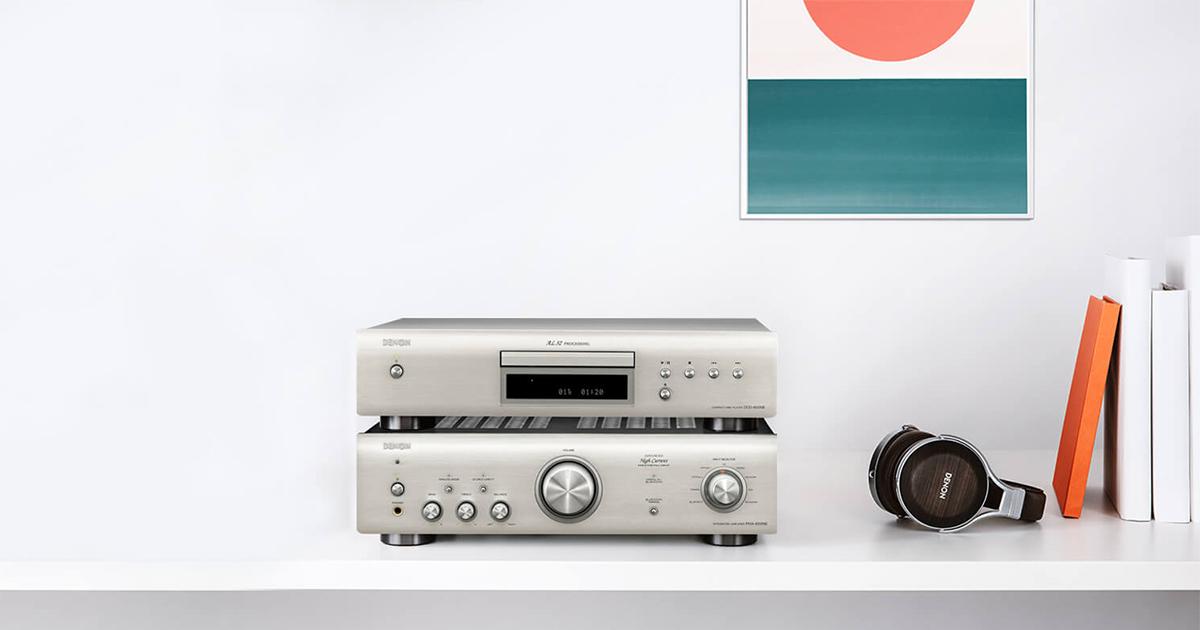 Denon Série 600 - PMA-600NE e DCD-600NE