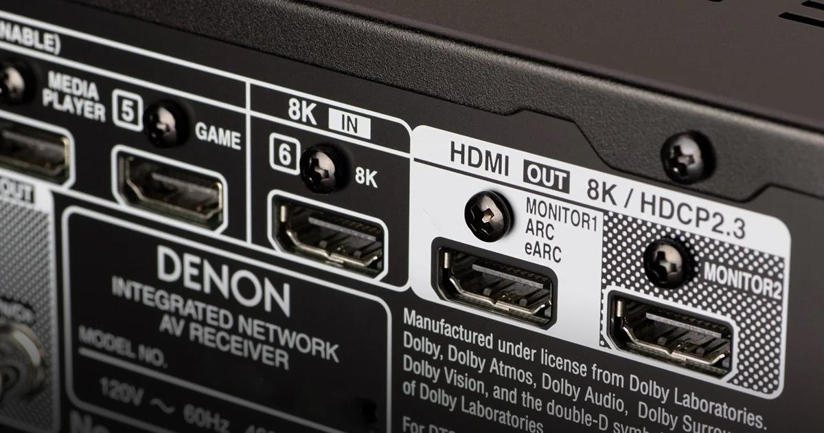Denon Kit 8K e 4K 120Hz